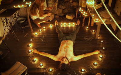 Horror in the Tasmanian woods.