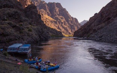 In at the deep end, again.